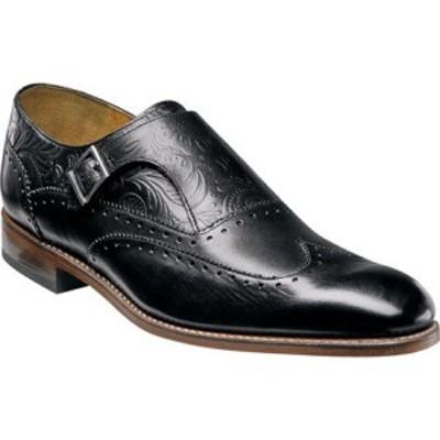 ステイシー アダムス Stacy Adams メンズ 革靴・ビジネスシューズ ウイングチップ モンクストラップ Madison II Monk Strap Wingtip 0007