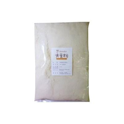 アサヒ食品工業こなやの底力 北海道産 大豆粉 1kg 【大豆パウダー、豆乳、だいず粉、国内産、国産】 (直送品)