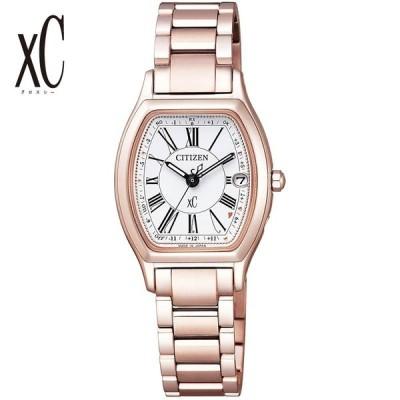 CITIZEN シチズン 腕時計 クロスシー Xc TITANIA LINE ティタニア ライン トノー型 ソーラー電波 ES9354-51A  レディース