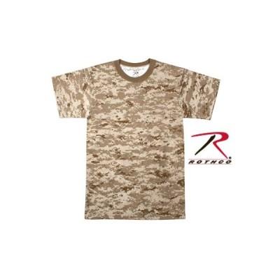 【お取り寄せ品】【大きいサイズ:2XL】  ROTHCO / ロスコ 5296  DESERT DIGITAL CAMO  T-SHIRT【サイズ:2XL】