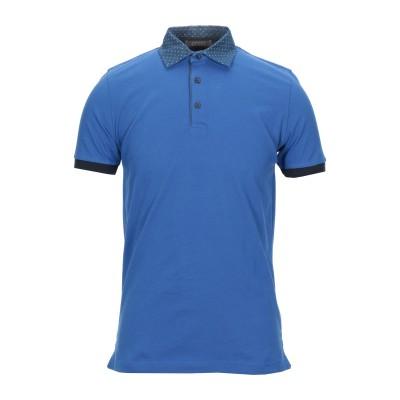 アンドレア フェンツィ ANDREA FENZI ポロシャツ アジュールブルー 54 コットン 92% / ポリウレタン 8% ポロシャツ