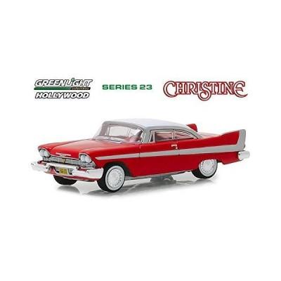 1958 Plymouth Fury, Christine - Greenlight 44830C/48 - 1/64 Scale Diecast Model Toy Car_並行輸入品