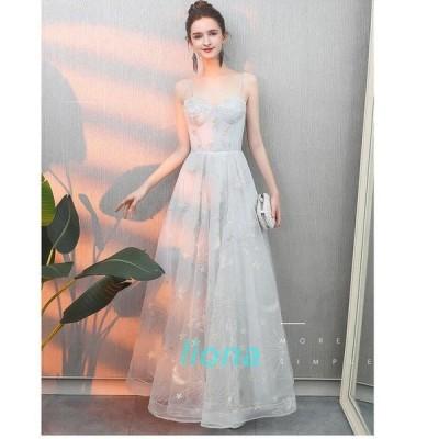 キャミソールドレス ウエディングドレス ナイトドレス ロングドレス パーディードレス ピアノ 成人式 結婚式 二次会 舞台用 披露宴 演奏会 発表会 上品