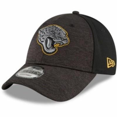 New Era ニュー エラ スポーツ用品  New Era Jacksonville Jaguars Youth Black Shaded Front 9FORTY Adjustable Hat
