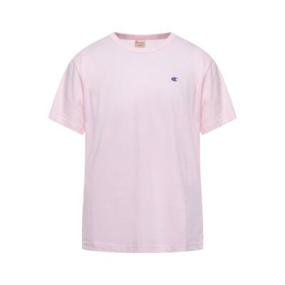 チャンピオン CHAMPION T シャツ ピンク M コットン 100% T シャツ