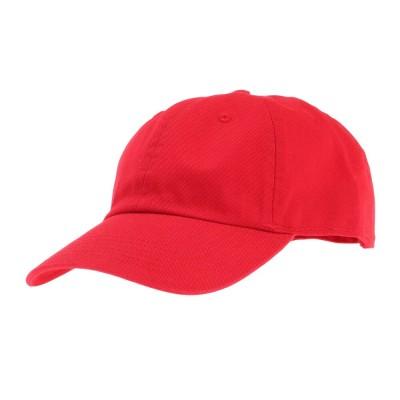 ニューハッタン雑貨ベース ロー キャップ ツイル 1403 red 4589682787035