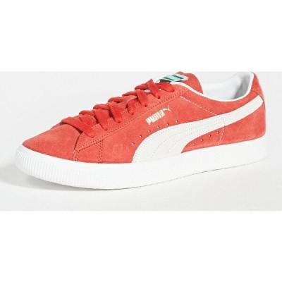 (取寄)プーマ セレクト スエード ビンテージ スニーカー PUMA Select Suede Vintage Sneakers HighRiskRed PumaWhite