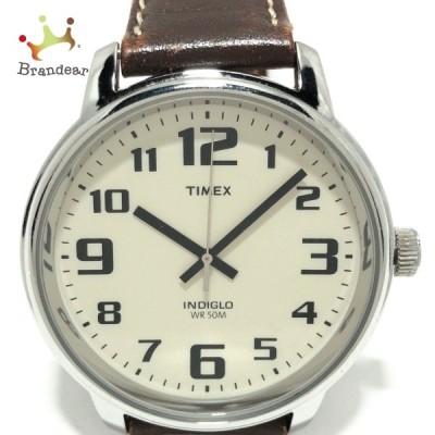 タイメックス TIMEX 腕時計 CR2016CELL メンズ アイボリー 新着 20210826