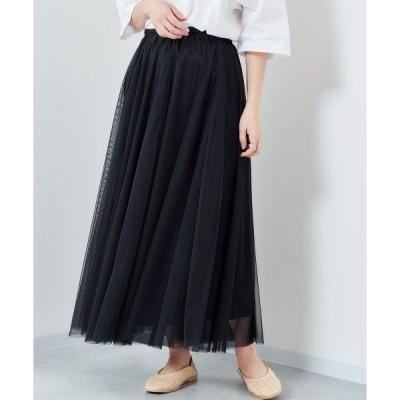 スカート チュールスカート