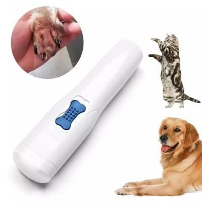 電気ペットネイルグラインダー,プロ グルーミングツール,犬と猫 爪,爪切り