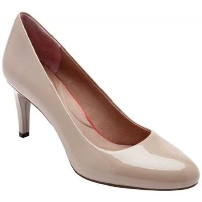 ロックポート Rockport レディース パンプス シューズ・靴 Total Motion Arabella Pump Neutral Beige Patent
