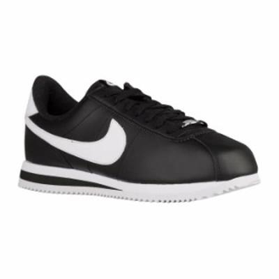 (取寄)NIKE ナイキ メンズ コルテッツ レザー スニーカー ブラック Nike Men's Cortez Black Metallic Silver White