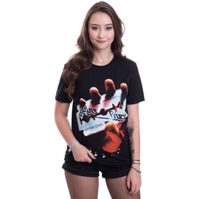 インペリコン Impericon レディース Tシャツ トップス - British Steel - T-Shirt black