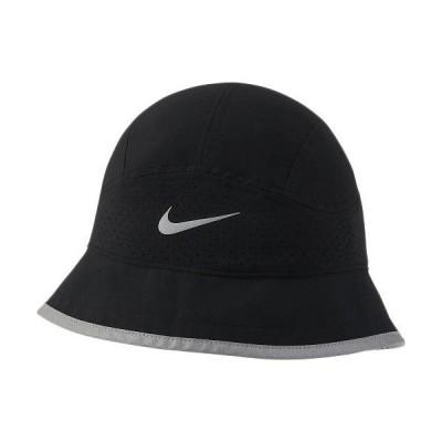 ナイキ(NIKE) メンズ レディース ランニングウェア DRI-FIT PERF バケット キャップ ブラック DH2426 010 帽子 アクセサリ 日よけ ユニセックス