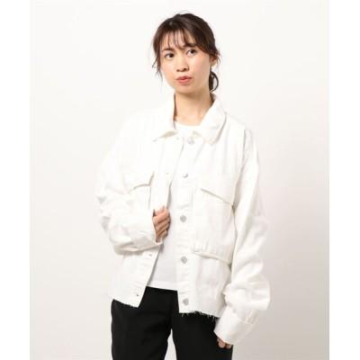 STYLEBLOCK / デニムオーバーサイズカットオフジャケット WOMEN ジャケット/アウター > デニムジャケット