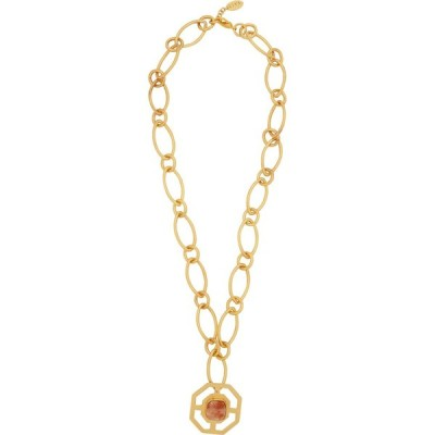 リヤ LIYA レディース ネックレス ジュエリー・アクセサリー ellipse gold-plated chain necklace Gold