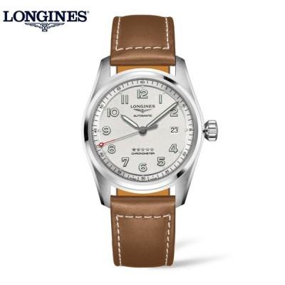 ロンジン 正規品 腕時計 メンズロンジン 正規品 腕時計 メンズ スピリット L38104732 COSC認定クロノメーター 自動巻