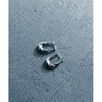rinto / 【YArKA/ヤーカ】silver925 twist hoop pierce/ひねりフープピアス シルバー925 WOMEN アクセサリー > ピアス(両耳用)