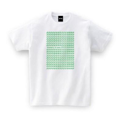 ご当地Tシャツ 千葉県 千葉はっぱ ホワイト おもしろtシャツ メンズ レディース ギフト GIFTEE