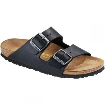 ビルケンシュトック Birkenstock レディース サンダル・ミュール シューズ・靴 Arizona Leather Sandal Black Oiled Leather