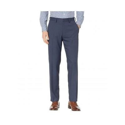 Kenneth Cole Reaction ケネスコール メンズ 男性用 ファッション パンツ ズボン Heather Stretch Gab Modern Fit Dress Pants - Navy