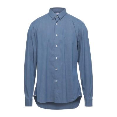 SPINNAKER シャツ ブルー 38 コットン 72% / ナイロン 25% / ポリウレタン 3% シャツ