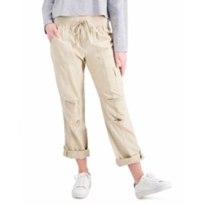 トミー ヒルフィガー レディース カジュアルパンツ ボトムス Alton Cuffed Straight-Leg Pants Khaki