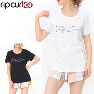 RIPCURL リップカール レディース Tシャツ S03-202 SCRIPT S/S TEE 半袖シャツ