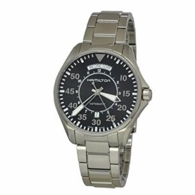 ハミルトンカーキパイロット日日付メンズ腕時計# h64615135