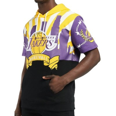 海外取り寄せ メンズ NBA LA Lakers ロサンゼルス・レイカーズ Restricted Hoodie フード付きシャツ XX809