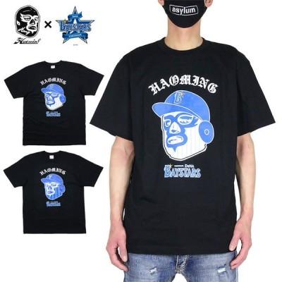 【ポイント5倍】ハオミン Tシャツ HAOMING 半袖Tシャツ 横浜 DeNA ベイスターズ メンズ レディース ブランド おしゃれ おすすめ