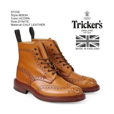 【スニークオンラインショップ】 トリッカーズ Trickers カントリーブーツ STOW M5634 5ワイズ メンズ ライトブラウン ユニセックス その他 UK9.0-約27.5 SNEAK ONLINE SHOP