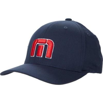 トラビスマシュー TravisMathew メンズ キャップ 帽子 For the Revolution Flex Hat (Boston) Blue Nights