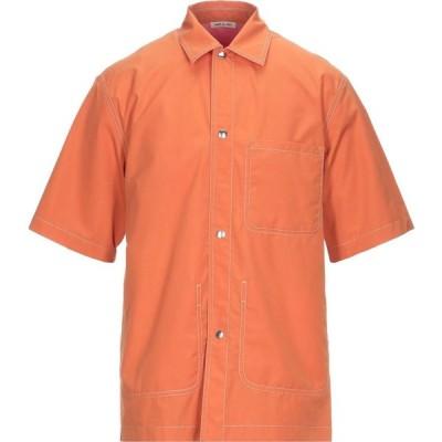 マルニ MARNI メンズ シャツ トップス Solid Color Shirt Orange