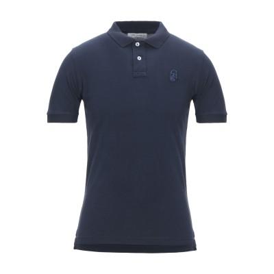 TRUSSARDI COLLECTION ポロシャツ ダークブルー S コットン 100% ポロシャツ