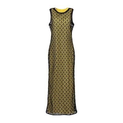 ジジル JIJIL ロングワンピース&ドレス イエロー 40 コットン 100% ロングワンピース&ドレス