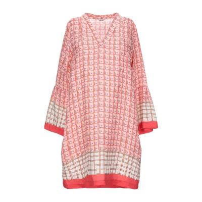 カリバン CALIBAN ミニワンピース&ドレス ライトピンク 40 シルク 100% ミニワンピース&ドレス