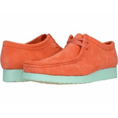 Clarks クラークス メンズ 男性用 シューズ 靴 オックスフォード 紳士靴 通勤靴 Wallabee Coral Combi【送料無料】