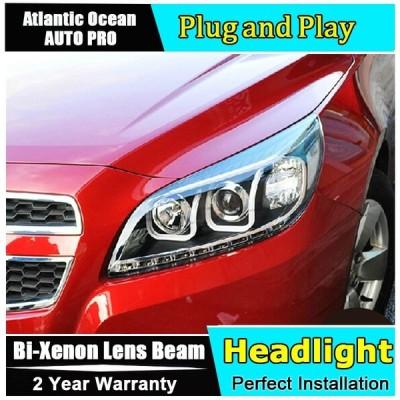 全国送料無料 カー用品 ライト アセンブリ コルベット 車のスタイリングのための LED ヘッドランプヘッドライト 2011-2014 drl LED ヘッドライト HID キットバイ