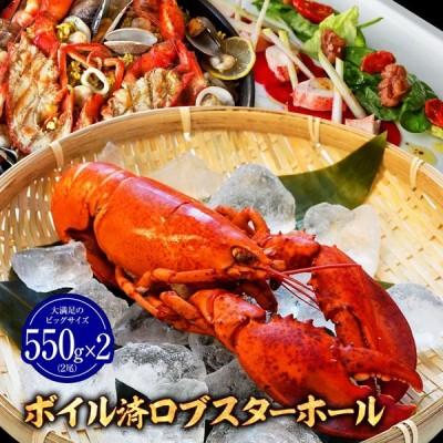 さらに 期間限定6499円 ロブスター オマール海老 ボイル済 550g×2 海老 エビ 海産物 海鮮