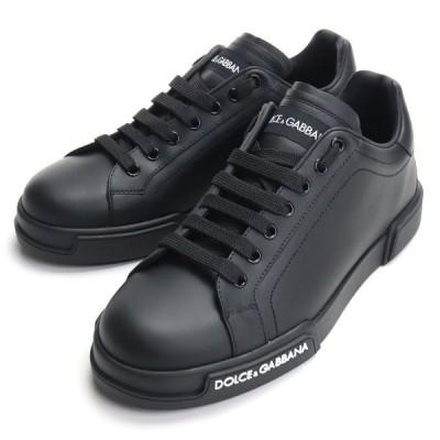 ドルチェ&ガッバーナ DOLCE&GABBANA メンズスニーカー CS1774 AA335 8B956 ブラック bos-26 shoes-01 メンズ