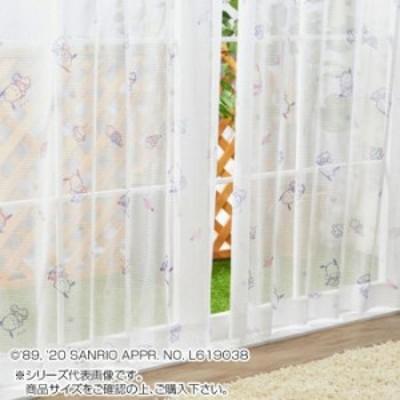 サンリオ ポチャッコ レースカーテン 2枚セット 100×133cm SB-535-S カーテン レースカーテン