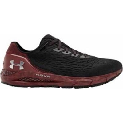 アンダーアーマー メンズ スニーカー シューズ Under Armour Men's South Carolina HOVR Sonic 3 Running Shoes Black/Burgundy