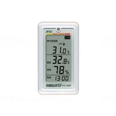 エー・アンド・デイくらし環境温湿度計 みはりん坊W AD-5687