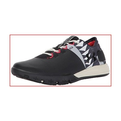 Under Armour Men's x Muhammad Ali Charged Ultimate 2.0 Sneaker, Black (001)/Stone, 8【並行輸入品】