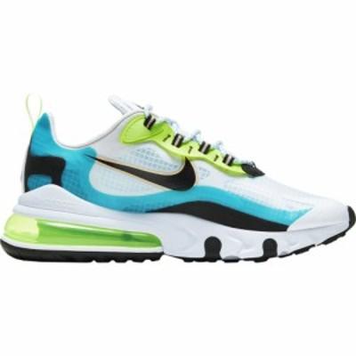 ナイキ メンズ エアマックス270 Nike Air Max 270 React スニーカー Oracle Aqua/Black/Ghost Green