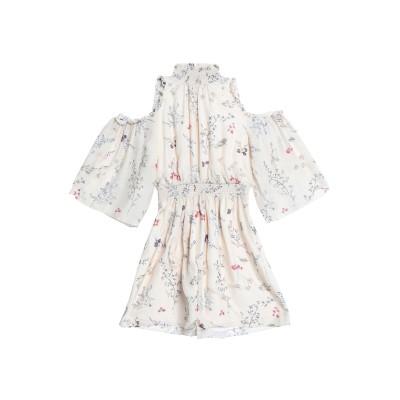 レイチェル・ゾー RACHEL ZOE ミニワンピース&ドレス ベージュ 4 シルク 100% ミニワンピース&ドレス