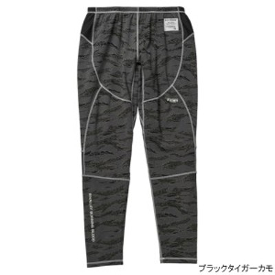 RBB COOL UVラッシュパンツ 886201 L ブラックタイガーカモ