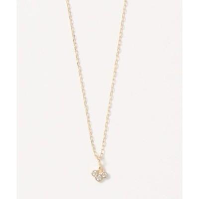 ネックレス 【K10】フルーツ・ダイヤモンドネックレス