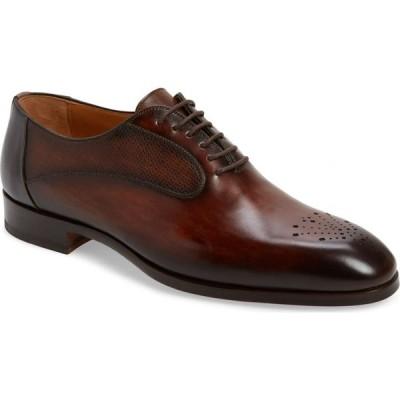 マグナーニ MAGNANNI メンズ 革靴・ビジネスシューズ シューズ・靴 Magnani Laredo Whole Cut Shoe Tobacco/Grey